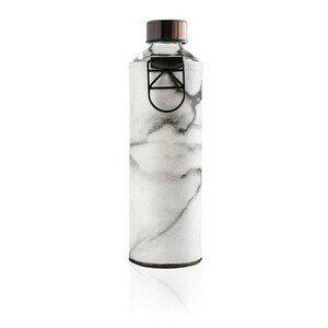Glasflasche 0,75 l Mismatch stone Equa