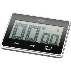 Kurzzeitmesser digital Kunststoff schwarz L 7,0 Silit