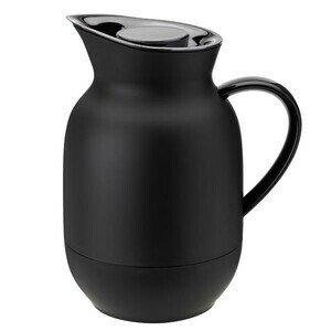 Isolierkanne 1l Amphora Kaffee soft black Stelton